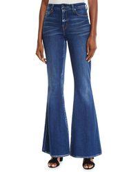 Elie Tahari - Leone Flare-leg Jeans - Lyst
