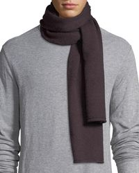 Vince - Cashmere Solid Scarf - Lyst