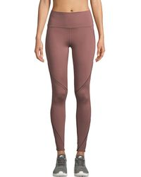 Under Armour - Misty Paneled Performance Leggings - Lyst