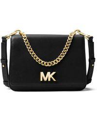 MICHAEL Michael Kors - Mott Large Chain Swag Shoulder Bag - Lyst