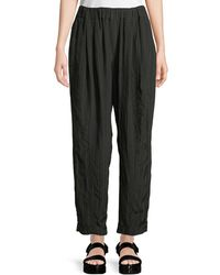 Urban Zen - Wide-leg Striped Pull-on Pants - Lyst