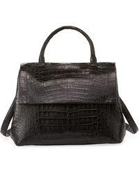 Nancy Gonzalez - New Top-handle Crocodile Satchel Bag - Lyst