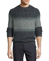 Theory - New Sovereign Striped Sweater - Lyst