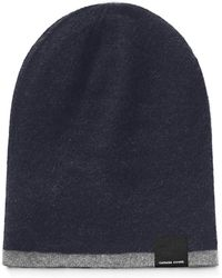 283365b0137 Lyst - Canada Goose Men s Wool-blend Conductor Hat in Red for Men
