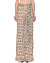 Missoni - Belted Wide-leg Pull-on Pants - Lyst
