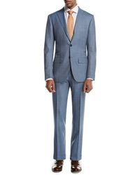 Kiton | Plaid Super 160s Wool Two-piece Suit | Lyst