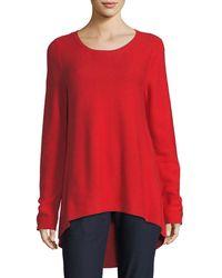 Eileen Fisher - Peruvian Organic Cotton Tunic - Lyst