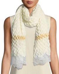 Bindya - Pure Effection Wool-silk Stole - Lyst