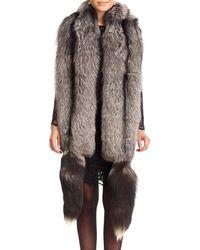 Gorski - Fox Fur Boa With Detachable Tails - Lyst