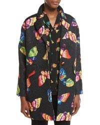 Boutique Moschino   Butterfly Jacquard Topper Jacket   Lyst