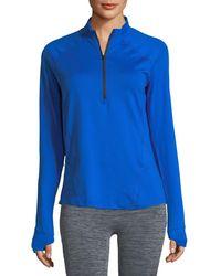 Under Armour - Run True Half-zip Pullover Top - Lyst