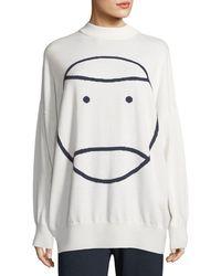Tory Sport - Little Grumps Performance Merino Oversized Sweater - Lyst
