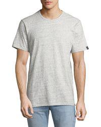 Rag & Bone - Men's James Heathered T-shirt - Lyst