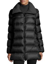 Moncler - Torcyn Quilted Wool-lined Puffer Coat - Lyst