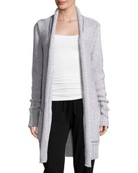 CALVIN KLEIN 205W39NYC - David Long Open Cardigan - Lyst