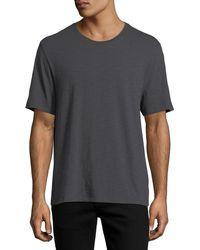 Vince - Short-sleeve Slub T-shirt - Lyst