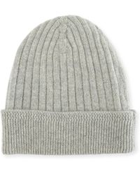 Tom Ford - Ribbed Cashmere Beanie Hat - Lyst 5ef3e899fe0