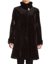 Gorski - Sheared Mink Fur Reversible Stroller Coat - Lyst