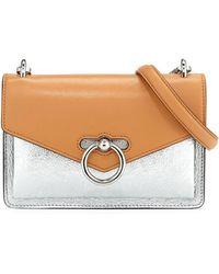 136602a8d2cf Rebecca Minkoff - Jean Colorblock Metallic Leather Crossbody Bag - Lyst