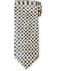 Stefano Ricci - Small-diamond Silk Tie - Lyst