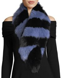 Charlotte Simone | Popsicle Fur Scarf | Lyst