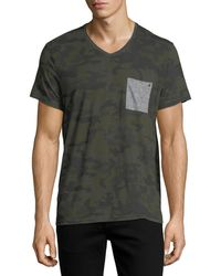 ELEVEN PARIS - Camouflage Pocket T-shirt - Lyst