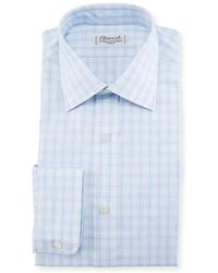Charvet - Woven Plaid Dress Shirt - Lyst