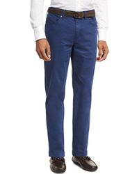 Peter Millar - Crown Five-pocket Stretch Sateen Pants - Lyst