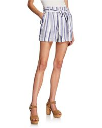 Parker - Kirby Striped Shorts - Lyst