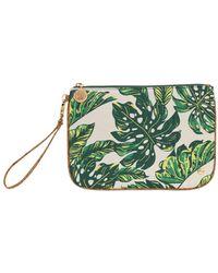 Stephanie Johnson - Seychelles Green Large Flat Wristlet - Lyst