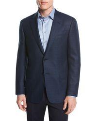 Giorgio Armani - Textured Wool Two-button Sport Coat - Lyst