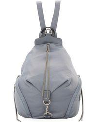 Rebecca Minkoff | Washed Nylon Multi-zip Backpack | Lyst
