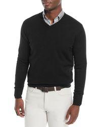 Peter Millar - Men's Crown Soft Wool/silk V-neck Sweater - Lyst