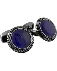Tateossian - Bull's Eye Fiber Optic Cuff Links - Lyst