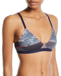 Xirena - Gisele Abstract Soft-cup Bra - Lyst