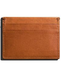 Shinola - Men's Five-pocket Leather Card Case - Lyst