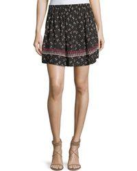 Ella Moss | Florica Floral-printed Mini Skirt | Lyst