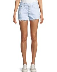 Levi's Premium - 501 Better Love Denim Shorts W/ Cutoff Hem - Lyst