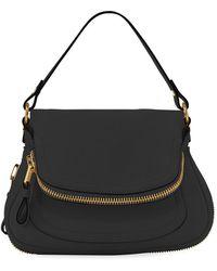 Tom Ford - Jennifer Medium Grained Leather Shoulder Bag - Lyst