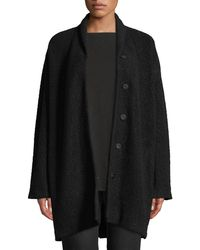 Eileen Fisher - Felted Wool Boucle Jacket - Lyst
