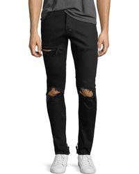 PRPS   Distressed Stretch-denim Jeans   Lyst