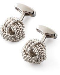 Tateossian - Knot Round Cuff Links - Lyst