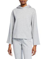 Enza Costa - Pullover Hoodie Sweatshirt - Lyst