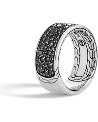 John Hardy - Men's Classic Chain Sapphire & Spinel Ring - Lyst