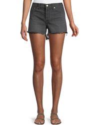 Levi's Premium - Wedgie High-rise Denim Cutoff Shorts - Lyst