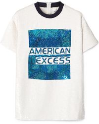 Ashish - American Excess Sequin T-shirt - Lyst