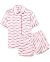 Sleepy Jones - Corita Printed Cotton-poplin Pyjama Set - Lyst