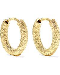 Carolina Bucci - 18-karat Gold Hoop Earrings Gold One Size - Lyst