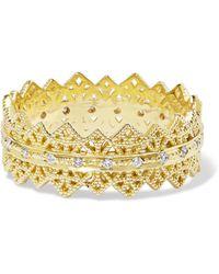 Grace Lee - Eternity Lace 14-karat Gold Diamond Ring - Lyst