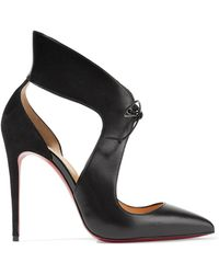 Christian Louboutin   Ferme Rouge Pointy Toe Pump   Lyst